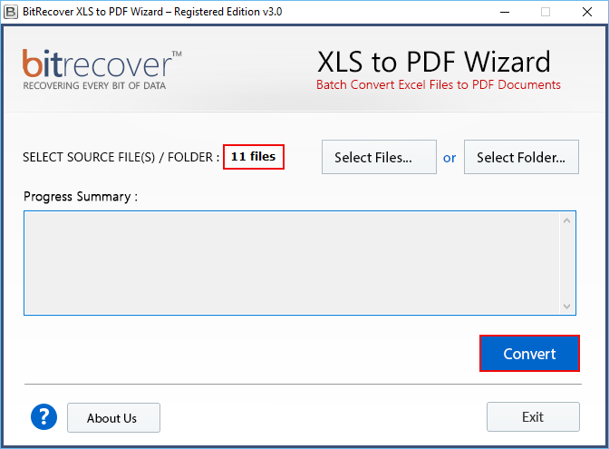 create pdf from excel